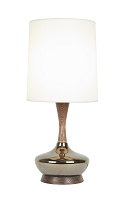 Up Kaya Deluxe Table Lamp - Bronze Ceramic | Lights Up!