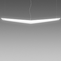 Mouette Asymmetrical Suspension 24W+54W | Artemide
