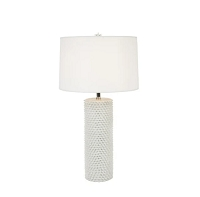 Up Lazuli Table Lamp - White | Lights Up!