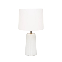Up Martha Table Lamp - Milk Glass | Lights Up!