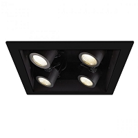 4-light LED Precision Module Recessed Housing | WAC Lighting