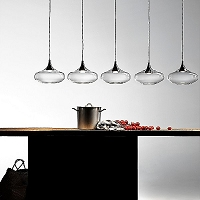 Nostalgia 5-light Linear Pendant | Studio Italia Design