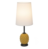 Up Pineapple Table Lamp - Pineapple Glass | Lights Up!