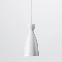 Pretty - Long White Pendant Light | Nyta