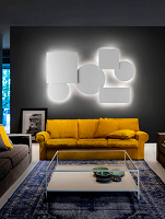 Puzzle Mega Square Small-Renoir by Infinity Wall/Ceiling Light | Lodes