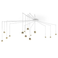 Spider 14-light Pendant | Studio Italia Design