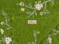 t.e. 217-05 Hand Embroidered Mohair Throw | Thomas Eyck