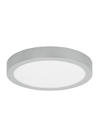 Tenur 12 Round Silver Ceiling Light | Tech Lighting