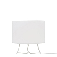 Up Virgil Low Table Lamp - White | Lights Up!