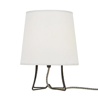 Up Virgil Small Slim Table Lamp - Black | Lights Up!