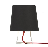 Up Virgil Small Slim Table Lamp - White | Lights Up!