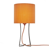 Up Virgil Tall Slim Table Lamp - Black | Lights Up!