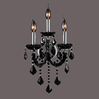 Lyre Wall Sconce W23113C12-BL | Worldwide Lighting