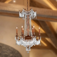 Winchester Crystal Chandelier W83356FG20-CL | Worldwide Lighting