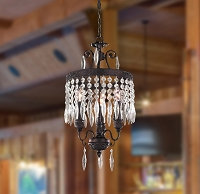Enfield Crystal Chandelier 3-Light | Worldwide Lighting