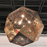 Geometrics Pendant Light W83429RG18 | Worldwide Lighting