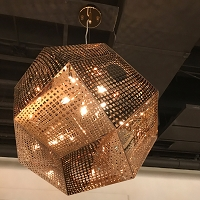 Geometrics Pendant Light W83430RG24 | Worldwide Lighting