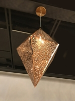Geometrics Pendant Light W83431RG14 | Worldwide Lighting