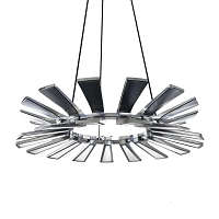 Wedge LED Chandelier | Blackjack Lighting