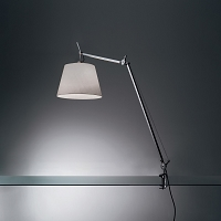 Tolomeo Mega LED Table with Clamp | Artemide