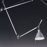 Tolomeo Off-Center Suspension Aluminum | Artemide