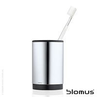 Uno Stainless Steel Toothbrush Holder | Blomus