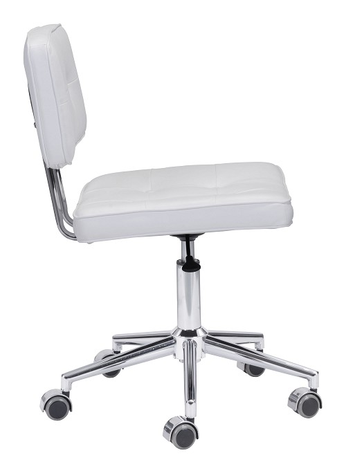 Series Office Chair in White | Zuo