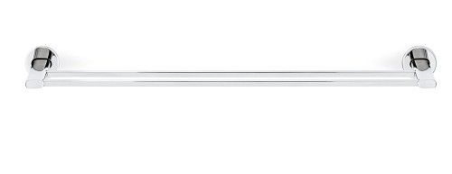 Areo Twin Towel Bar Polished 27 inch | Blomus