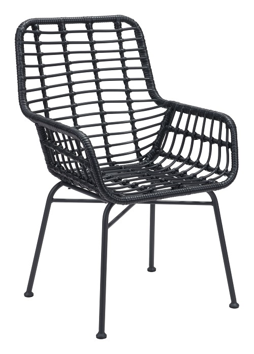 Lyon Chair in Black set of 2 | Zuo
