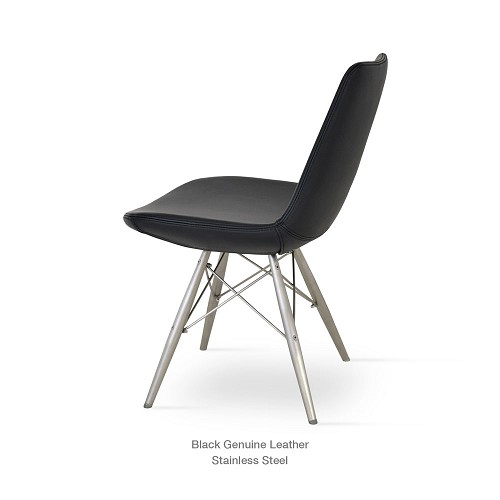 Eiffel MW Chair Leather | SohoConcept