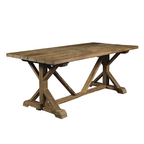 Xena Reclaimed Teak Dining Table | Padma's Plantation