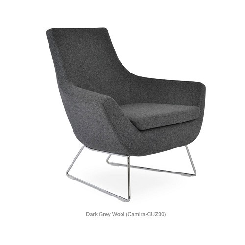 Rebecca Wire Arm Chair Fabric | SohoConcept