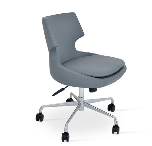 Patara Office Chair in Grey - Open Box | Soho Concept