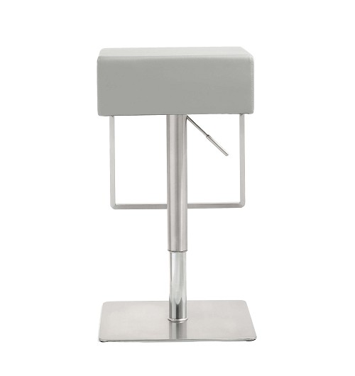Tov Furniture Seville Light Grey Barstool
