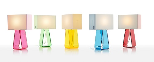 Tube Top 14 Color Table Lamp | Pablo Designs