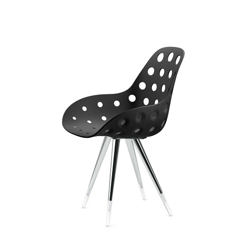 Angel Dimple Hole Chair | Kubikoff