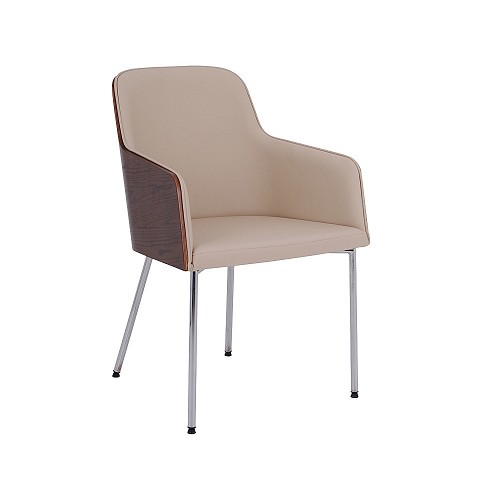 Hudson Armchair Metal Base | B&T