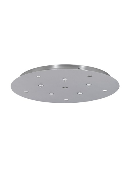 11-port LED Line-Low Voltage Round Canopy | Tech Lighting