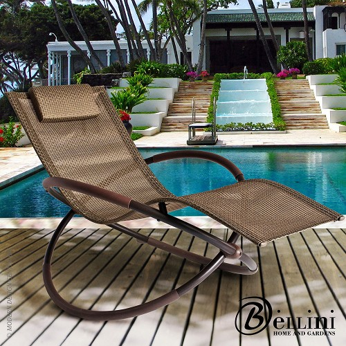 Bali Wave Rocking Chaise Lounger W77750 | Bellini