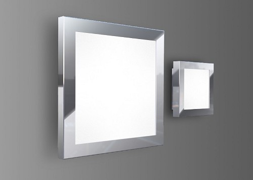 Quadra LED Flush Mount | Blackjack Lighting
