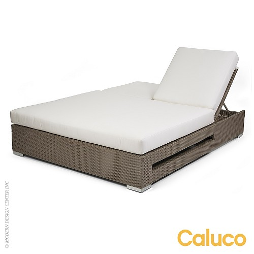 10 Tierra Double Chaise | Caluco Patio Furniture
