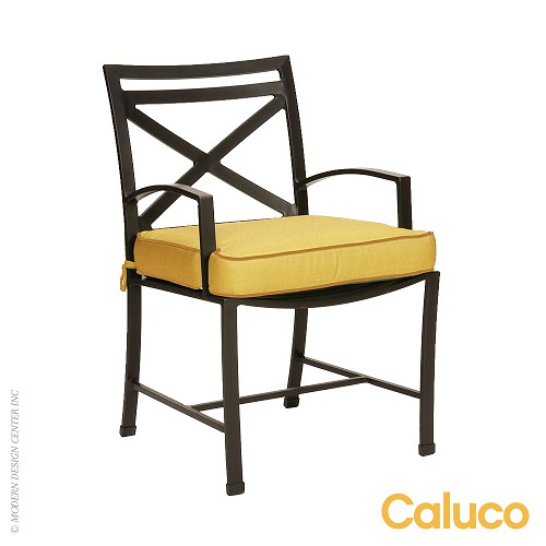 San Michelle Dining Arm Chair Set of 2 | Caluco Patio Furniture