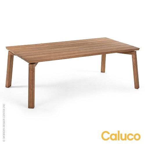 Sixty Dining Rectangle Table | Caluco Patio Furniture