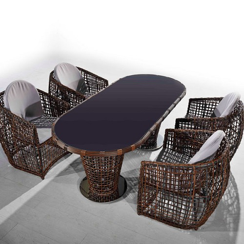 Nest 5-Piece Patio Dining Set | Ceets