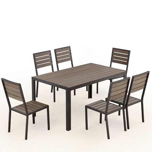 Welsley 6-Seat Outdoor Dining Set | Ceets