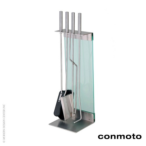 Teras Fireside Tools with Stand - Set of 4 | Conmoto