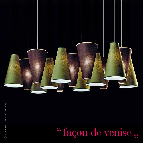 Aqua SO 15L Pendant Light | Facon de Venise