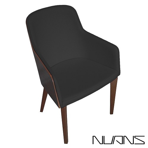 Hudson Arm Plywood Chair Wood Base | Nuans