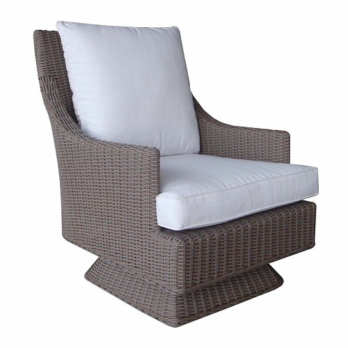 Cayman Islands Outdoor Rocking Swivel Chair | Padma's Plantation