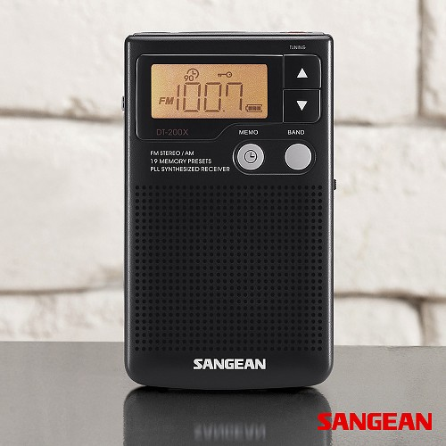 FM Stereo AM Pocket Receiver with Built-in Speaker | Sangean
